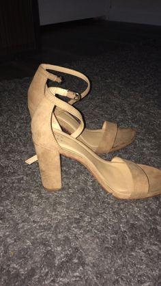 c98f62f4d2da Taupe Platform Heels  fashion  clothing  shoes  accessories  womensshoes   heels (