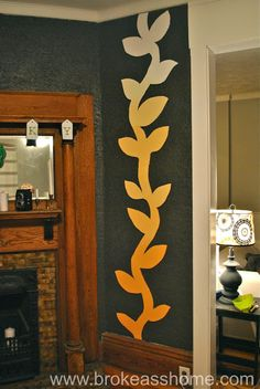 DIY: Ombre Wall Art- step by step instructions Inspiration for soooo many other ideas for wall art