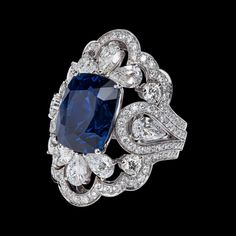 haute sapphire rings - Google Search