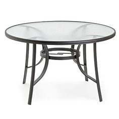 Find This Pin And More On Outdoor Porch U0026 Patio. Wilson U0026 Fisher® Round  Glass Dining Table ...