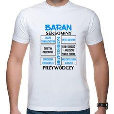 BARAN 3 ZNAK ZODIAKU NC Psp, Aries, Mens Tops, T Shirt, Supreme T Shirt, Tee Shirt, Aries Zodiac, Tee, Aries Sign