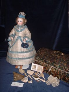 'Fifi' 19th C Fashion Doll in the Highland Museum of Childhood, Strathpeffer, Scotland
