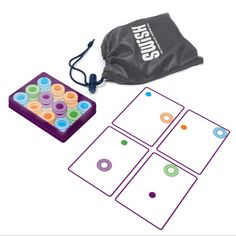 Swish Card Game is a GREAT Stocking Stuffer and is 30% off! Number of stars: 4.6 out of 5. ThinkFun's Swish is a fast-paced card game that challenges players to flex their mental muscles as they try to out-Swish their competitors. Designed to challenge spatial intelligence, Swish is easy to learn and addictively fun for …