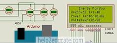 This article deals with the design of Arduino based energy monitor.Schematic diagram, components, simulation results code are explained in this article.
