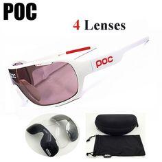8a1e89c44c3 POC 2018 New Brand Polarized Cycling Glasses Men Women Sports Outdoor Sun  Goggles Bike Eyewear Bicycle