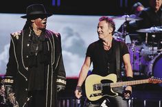 bruce springsteen and Clarence
