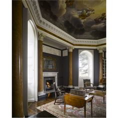 Library, Buckland House, Berkshire. English Architecture, English Interior, Sitting Rooms, Home Libraries, Reading Nook, Palaces, Castles, Homes, Interiors