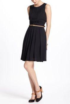 Airy Wisp Dress-Anthro