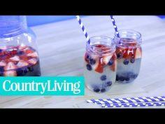 Red White and Blue Sangria - CountryLiving.com
