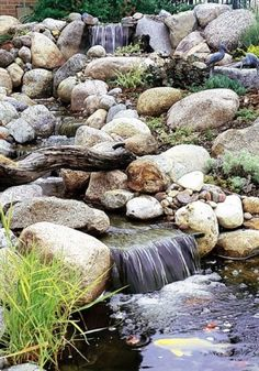 a babbling brook for my backyard...I think that would be perfect.