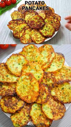 Cookout Side Dishes, Healthy Side Dishes, Herbed Potatoes, Amazing Food Videos, Share Photos, Potato Pancakes, Vegetarian Lunch, Healthy Salad Recipes, Ground Beef Recipes