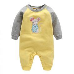 2018 high quality orangemom babies girl wear 100% cotton infant clothing 0-24M  Baby 929e03c90