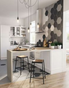 Prodigious Cool Tips: Narrow Kitchen Remodel Pantry Design kitchen remodel with island chip and joanna gaines.Kitchen Remodel Backsplash Ceilings old small kitchen remodel.Old Small Kitchen Remodel. Küchen Design, Layout Design, Design Ideas, Bar Designs, Design Trends, Tile Layout, Tile Design, Design Elements, Luxury Kitchens