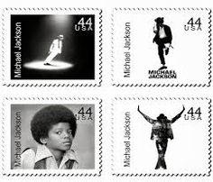 US Stamps - Michael Jackson