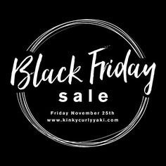 B I G G E S T  S A L E  O F  T H E  Y E A R !  Up to 30% off all textures & lengths. Full bundles half bundles closures clip ins & wigs. . .  The hair you have been stalking all year is going on sale at the biggest discount of the year. Last sale of the year. Up to 30% off  NO CODE NEEDED! - Starts Friday November 25th Please make note of your time zone.  Midnight Eastern Standard time. (NY & ON) 11pm Central (IL & TX) 9pm Pacific (CA) 5:00am (GMT-UK) 4:00pm (Nov 26- ACT Australia) - Set…