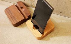 組み合わせを楽しむインテリアブロック「BLOCKシリーズ」 おしゃれな木の北欧風雑貨・iPhoneケース・木製名刺入れのブランド Hacoa Cnc Projects, Phone Stand, Handmade, Phone Holder