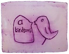 birdsong 5 by Stefanie Neumann over Galerie Kruse http://galeriekruse.bigcartel.com