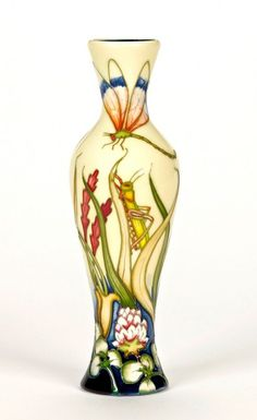 Moorcroft Pottery -Limited Edition - Grasshopper