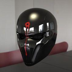 red hood helmet 3d max