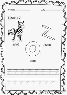 Clasa pregatitoare: Fisa de lucru sunetul si litera Z Activities For Kids, Preschool, Pdf, Nurses, David, English, Quizes, Double Deck Bed, Nursery Rhymes