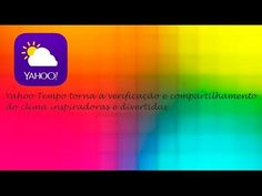 Yahoo Tempo - Aplicativo de Tempo Perfeito iOS ♡ ♥