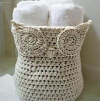 Owl Basket  So many choices for Owl designed accessories, love this basket!