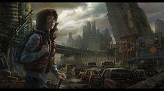 post apocalypse people | Sci Fi Post Apocalyptic Wallpaper/Background 1440 x 800 - Id: 338459 ...
