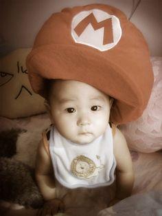 Mario #asianbaby
