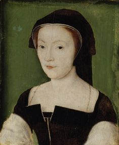 Portrait of Mary of Guise - Queen of James V of Scotland and mother of Mary, Queen of Scots c. 1537 by Corneille de Lyon Mary Queen Of Scots, Queen Mary, Mary Mary, Tudor History, European History, British History, Asian History, James V Of Scotland, Mary Of Guise
