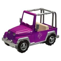 Our Generation Toy Jeep for Sage's American Girl Doll $30 at Target.com
