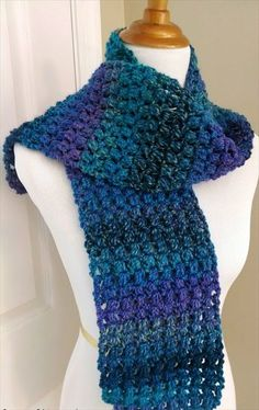 The Tweedy Puff Stitch Scarf is a fun scarf full of texture and rich, saturated colors. If you have never worked the puff stitch before, this is a great ...
