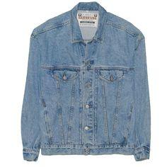 22555c20c Vintage Guess American Cut Men's Jean Jacket Classic Large 1990's Denim  Made USA #fashion #