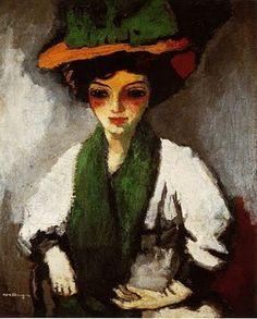 Thé au Jasmin: Kees Van Dongen, Femmes à chapeaux
