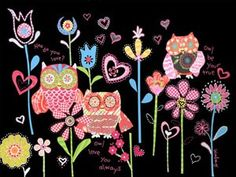 LARGE hoo do you love by winborgdesign on Etsy, $279.00