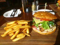 Cena chicken burger - Caffe Cena, Prospect, SA, 5082 - TrueLocal