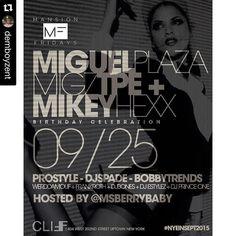 #Repost @djbobbytrends  #Repost @demboyzent with @repostapp.  FRIDAY 9-25-15  #bmg #igerofnyc #igersmusic #clubbing #fridaynight #musicislife