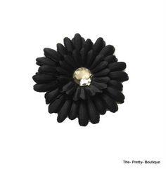 Hair Flowers Adult/Children Black £2 #hairaccessories #flower #adult #children #black #fashion #accessories