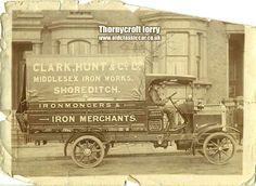 A Thornycroft lorry, possibly a BT