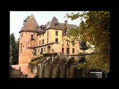 Les châteaux de Saône et Loire (Bourgogne sud) - YouTube