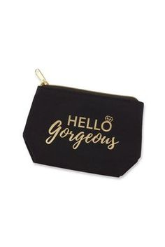 Hello Gorgeous Bridesmaid Makeup Bag
