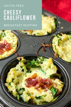 Recipes Breakfast Muffins Get a delicious savory recipe for Plant Paradox compliant cheesy cauliflower breakfast muffins, perfect for back-to-school mornings or grab-and-go snacks. Breakfast Muffins, Free Breakfast, Breakfast Recipes, Savory Breakfast, Clean Breakfast, Mini Muffins, Muffin Recipes, Dinner Recipes, Clean Eating Recipes
