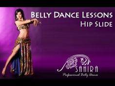Belly Dance Lessons - Hip Slide - YouTube