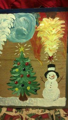 Festive - paint