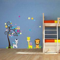 stickers muraux idee decoration murale