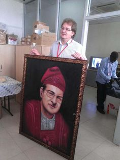 Book 36inches by 48inches portrait painting