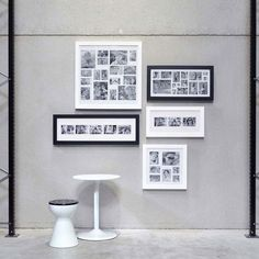 Image Multi Frame 3 - White - designer photo frame - XLBoom