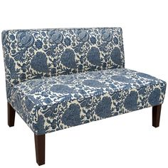 Made to Order Armless Settee - Overstock™ Shopping - Great Deals on Sofas & Loveseats