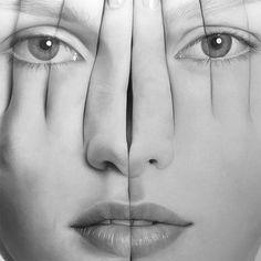 Tigran Tsitoghdzyan hyper-realistic portraits
