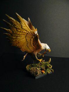 Desari miniatures painting: Great Eagle - Wood Elves army
