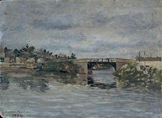 Maxime Maufra - Vieux pont de Barbin
